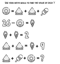Free Math Coloring Worksheets for 3rd and 4th Grade — Mashup Math [ 1248 x 1000 Pixel ]