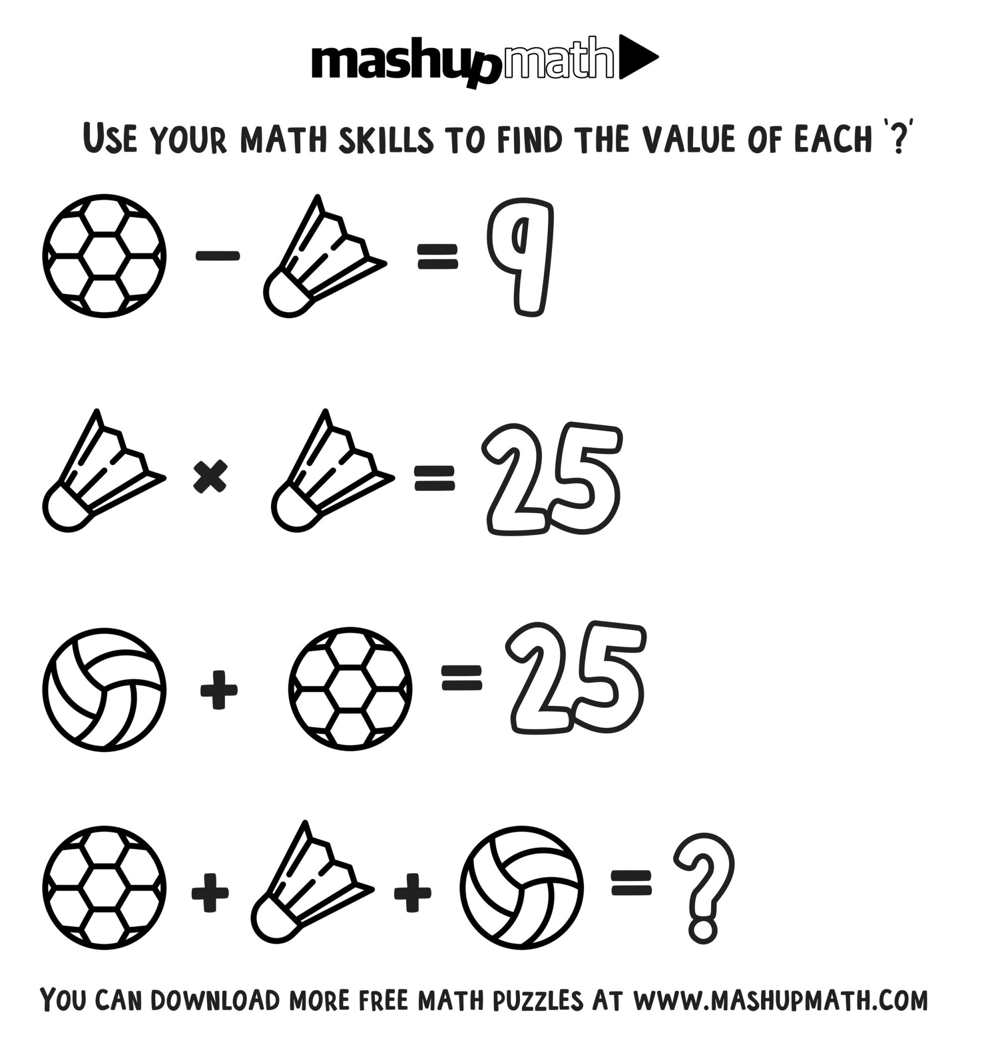 hight resolution of Free Math Coloring Worksheets for 3rd and 4th Grade — Mashup Math