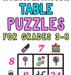 Multiplication Table Worksheets: Free Printable Math Puzzles — Mashup Math [ 2084 x 1000 Pixel ]