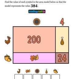 12 Thanksgiving Math Activities for Grades 1-8 — Mashup Math [ 1372 x 1000 Pixel ]