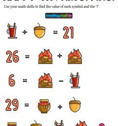 12 Thanksgiving Math Activities for Grades 1-8 — Mashup Math [ 1294 x 1000 Pixel ]