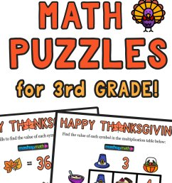 12 Thanksgiving Math Activities for Grades 1-8 — Mashup Math [ 2084 x 1000 Pixel ]
