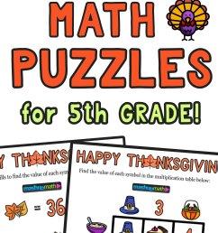 12 Thanksgiving Math Activities for Grades 1-8 — Mashup Math [ 2084 x 1000 Pixel ]
