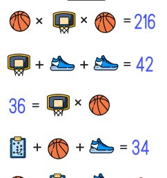 Are Your Kids Ready for These Basketball Math Puzzles? — Mashup Math [ 1477 x 1000 Pixel ]