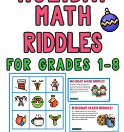 5 Fun Christmas Math Riddles and Brain Teasers for Grades 1-8 — Mashup Math [ 2084 x 1000 Pixel ]
