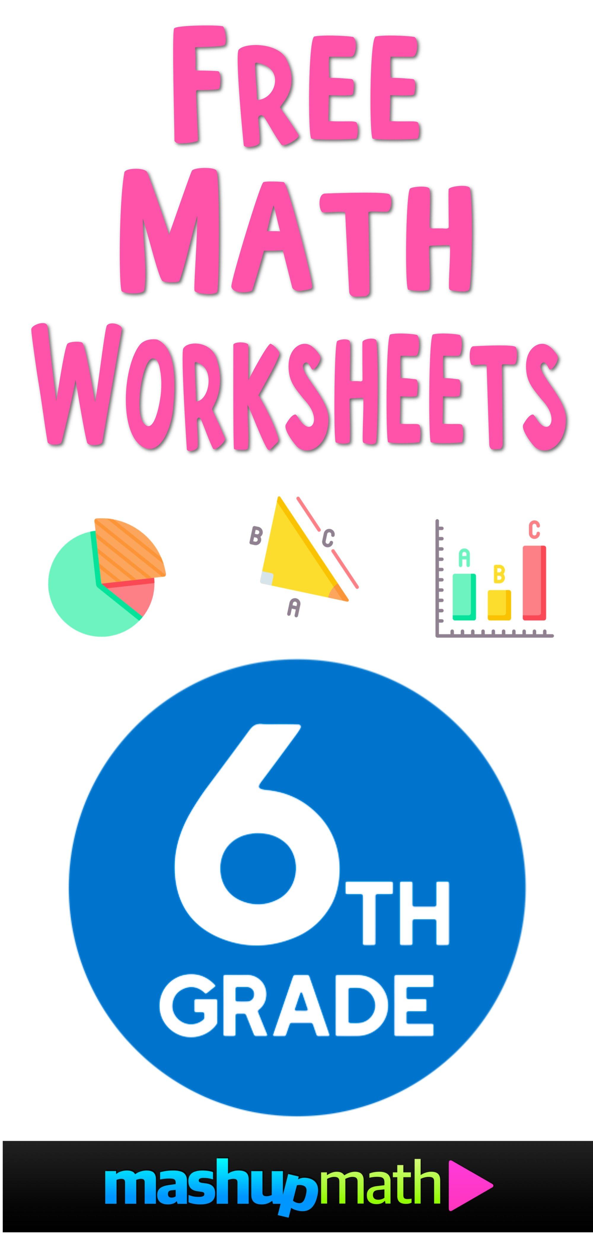 hight resolution of Free Math Worksheets — Mashup Math