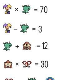April Fools' Day Math Puzzle for Grades 1-6 — Mashup Math [ 1477 x 1000 Pixel ]