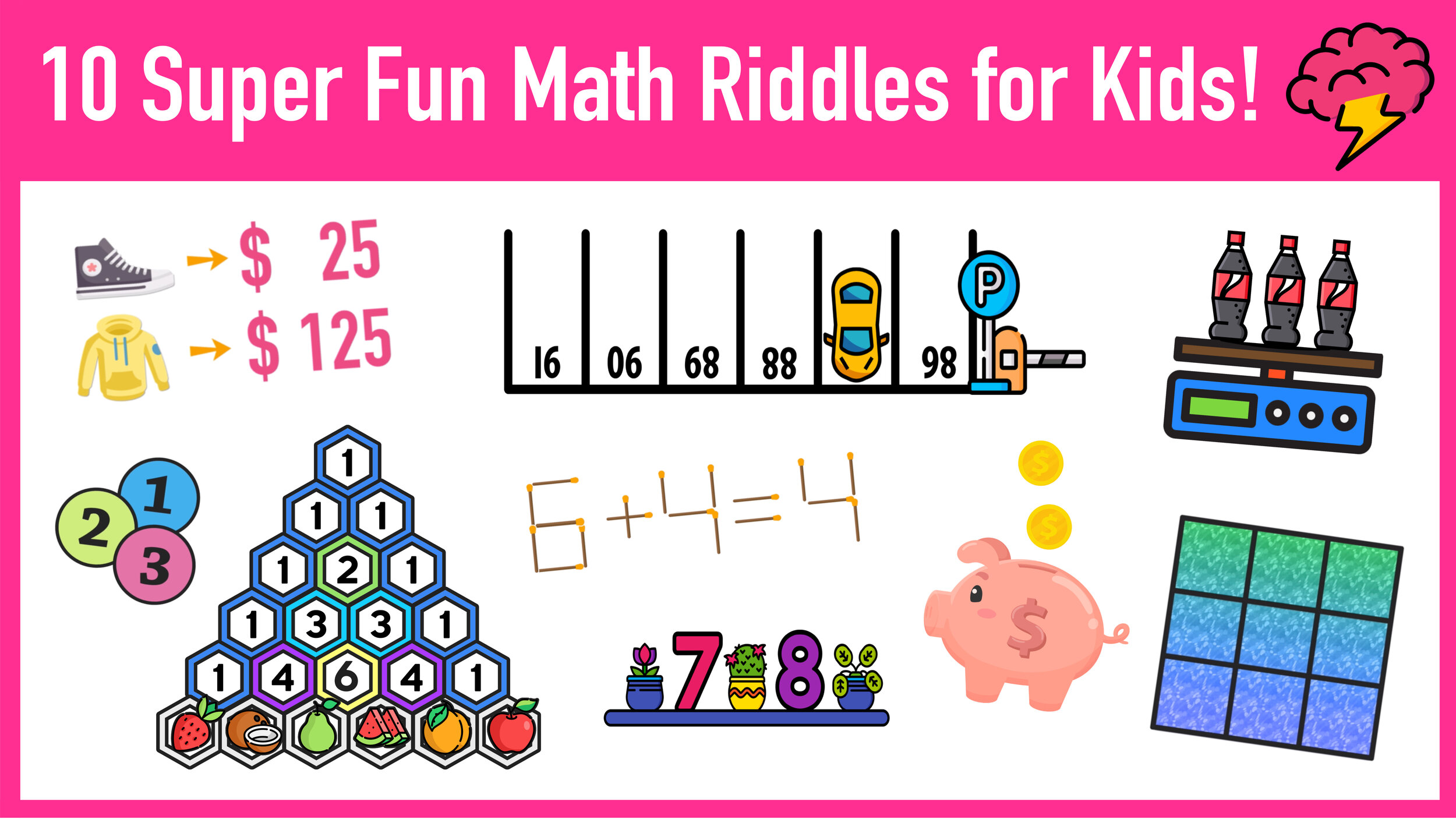 10 Super Fun Math Riddles for Kids Ages 10+ (with Answers) — Mashup Math [ 844 x 1500 Pixel ]