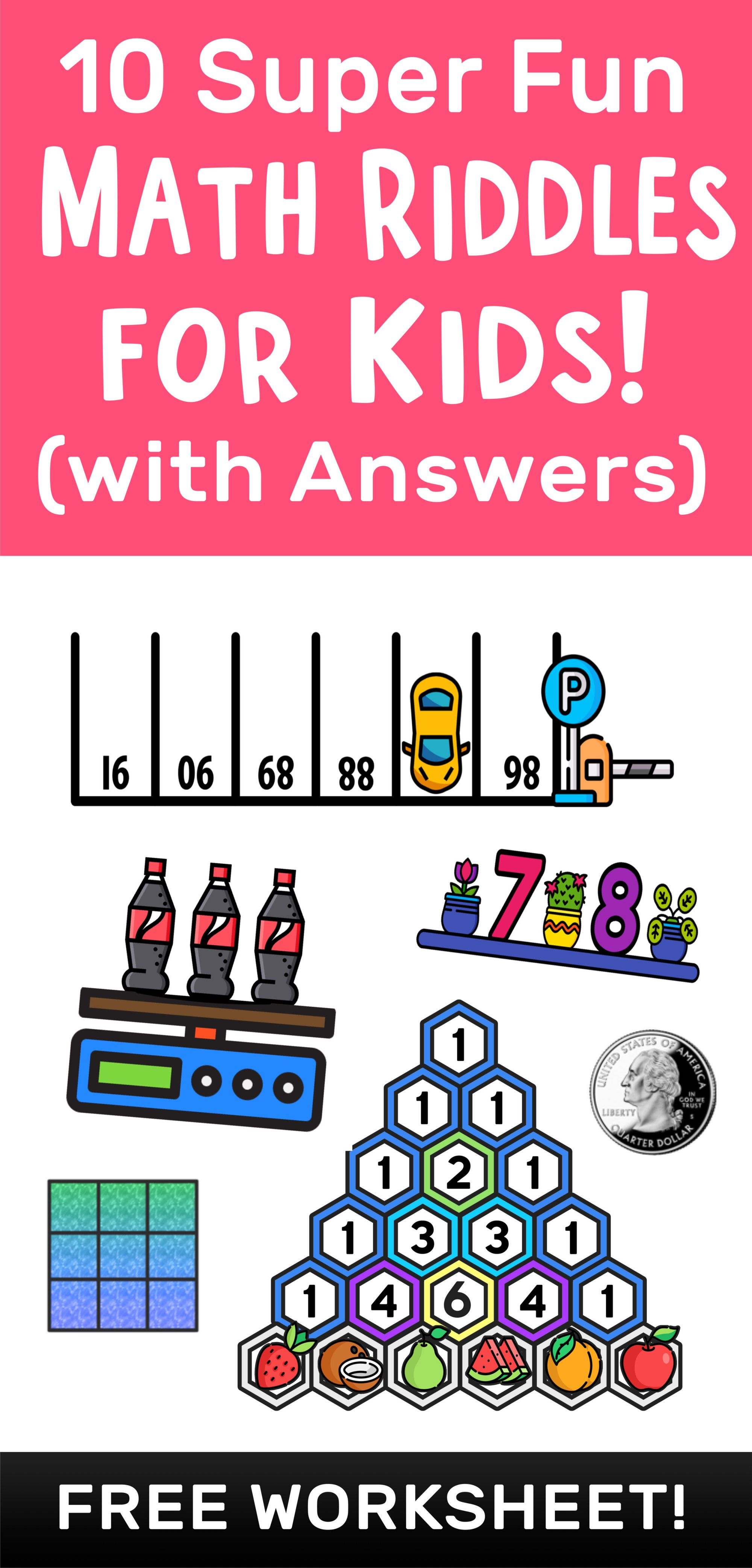 hight resolution of 10 Super Fun Math Riddles for Kids Ages 10+ (with Answers) — Mashup Math