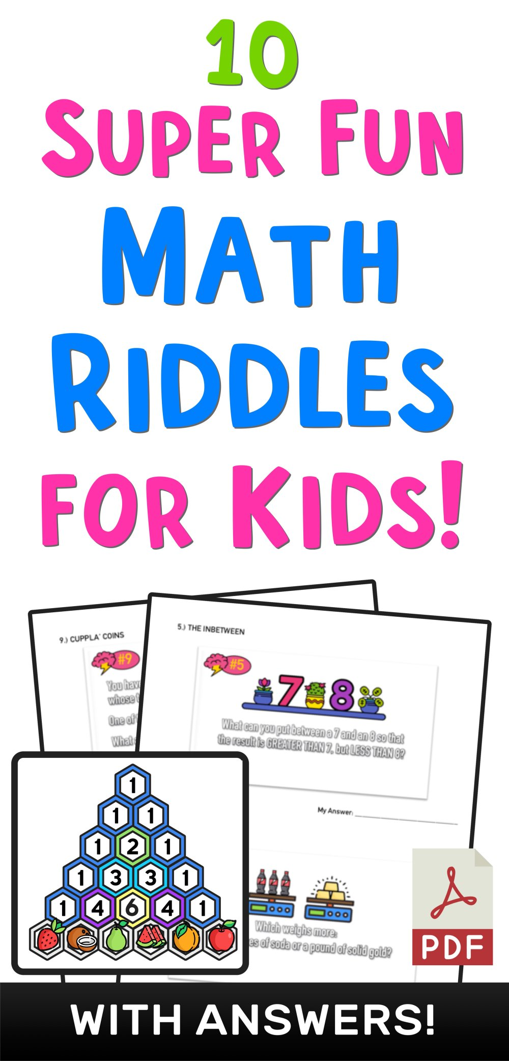 medium resolution of 10 Super Fun Math Riddles for Kids Ages 10+ (with Answers) — Mashup Math