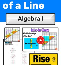 Finding Slope of a Line: 3 Easy Steps — Mashup Math [ 2084 x 1000 Pixel ]