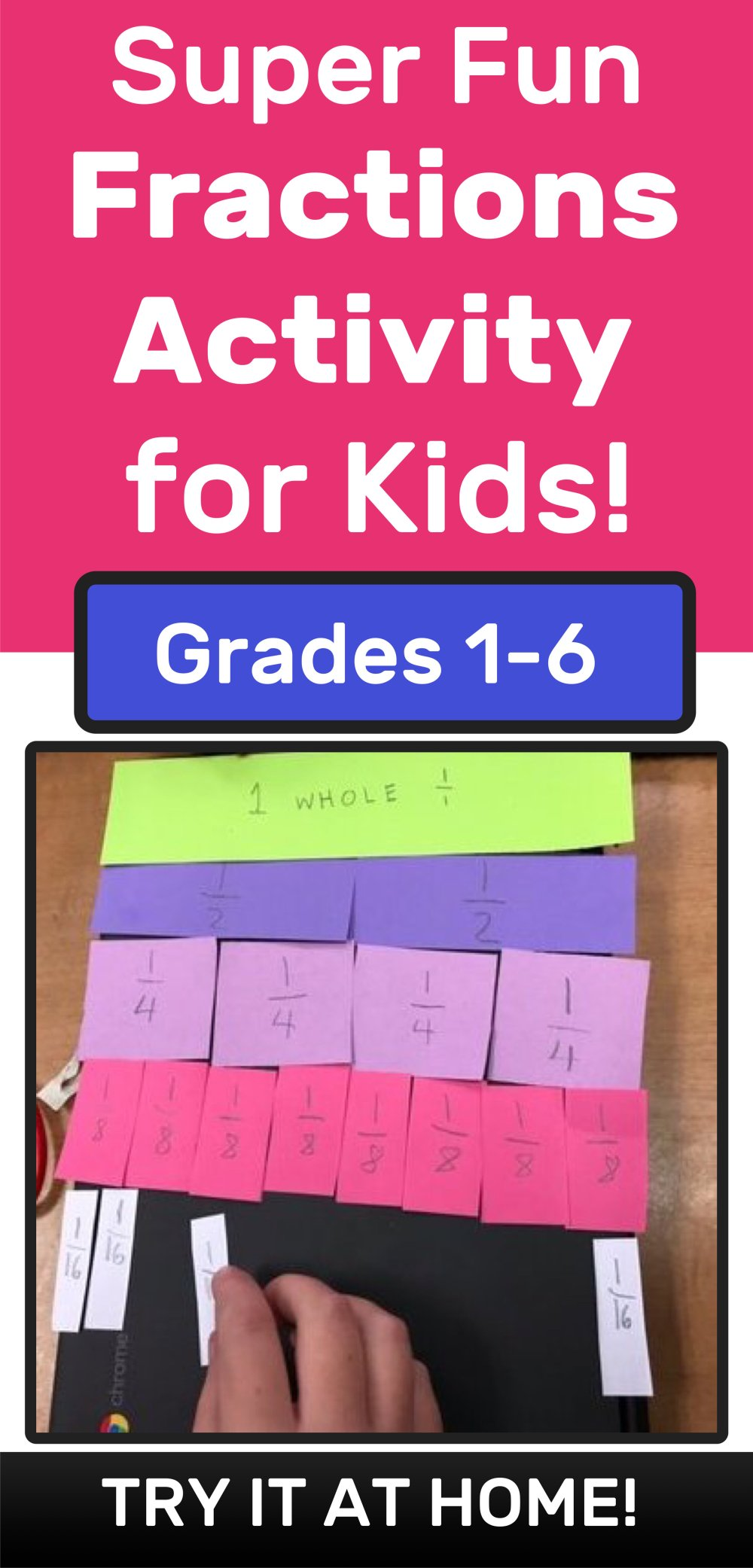medium resolution of Here's an Awesome Way to Teach Kids Fractions — Mashup Math
