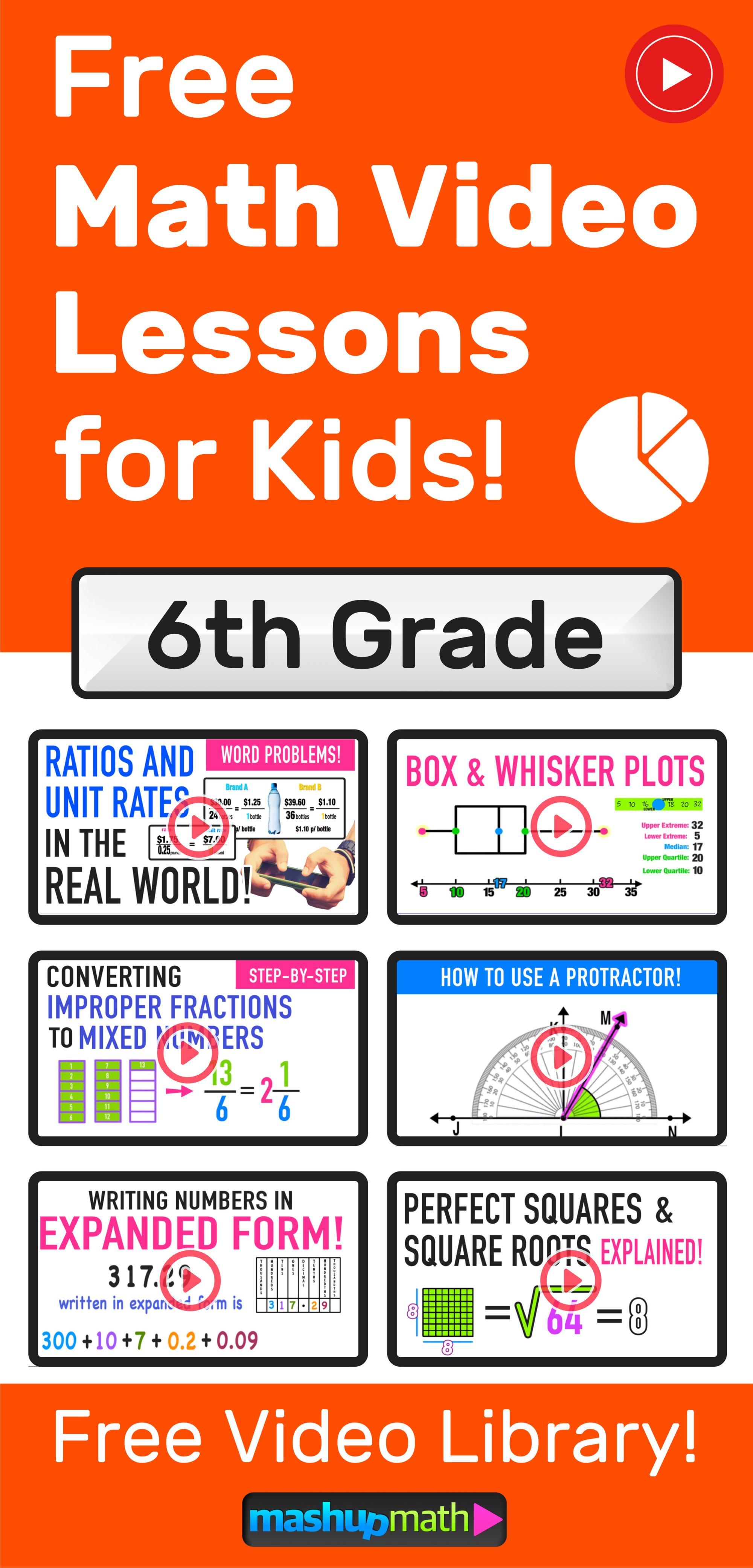 hight resolution of Grades 4-6 Videos (2020) — Mashup Math