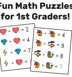The Best Math Worksheets for 1st Grade Students — Mashup Math [ 918 x 1000 Pixel ]