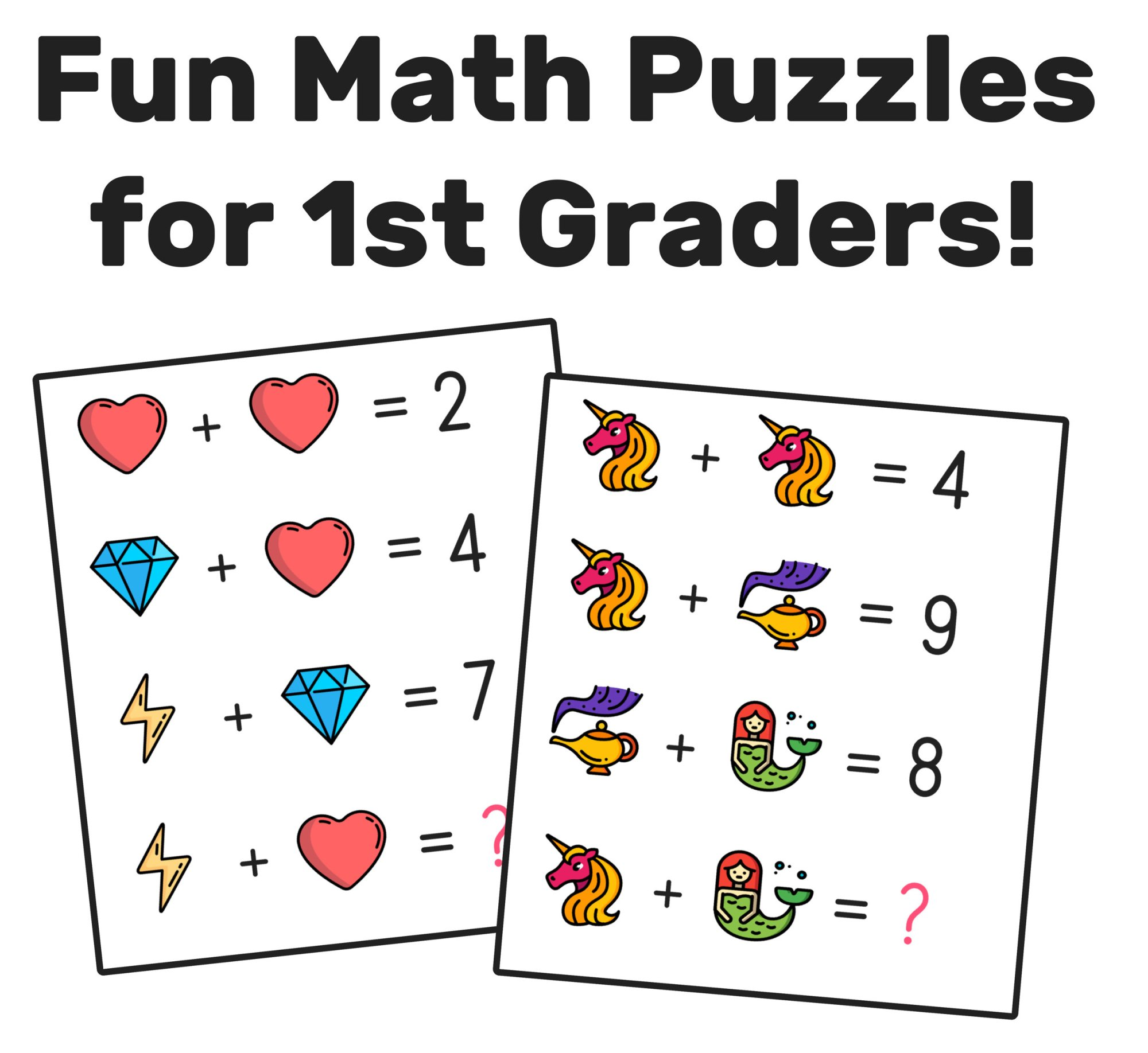 hight resolution of The Best Math Worksheets for 1st Grade Students — Mashup Math