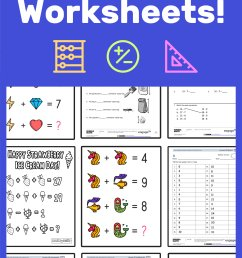 The Best Math Worksheets for 1st Grade Students — Mashup Math [ 2084 x 1000 Pixel ]