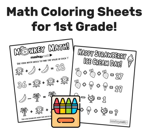 small resolution of The Best Free First Grade Math Resources: Complete List! — Mashup Math
