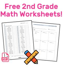The Best Free 2nd Grade Math Resources: Complete List! — Mashup Math [ 942 x 1000 Pixel ]