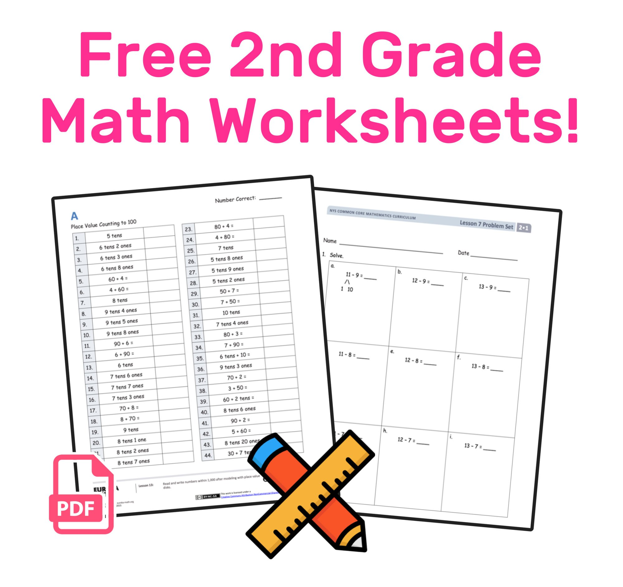 hight resolution of The Best Free 2nd Grade Math Resources: Complete List! — Mashup Math
