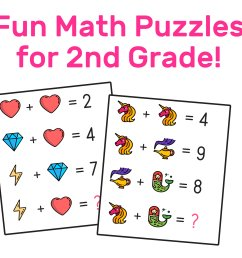 The Best Free 2nd Grade Math Resources: Complete List! — Mashup Math [ 865 x 1000 Pixel ]