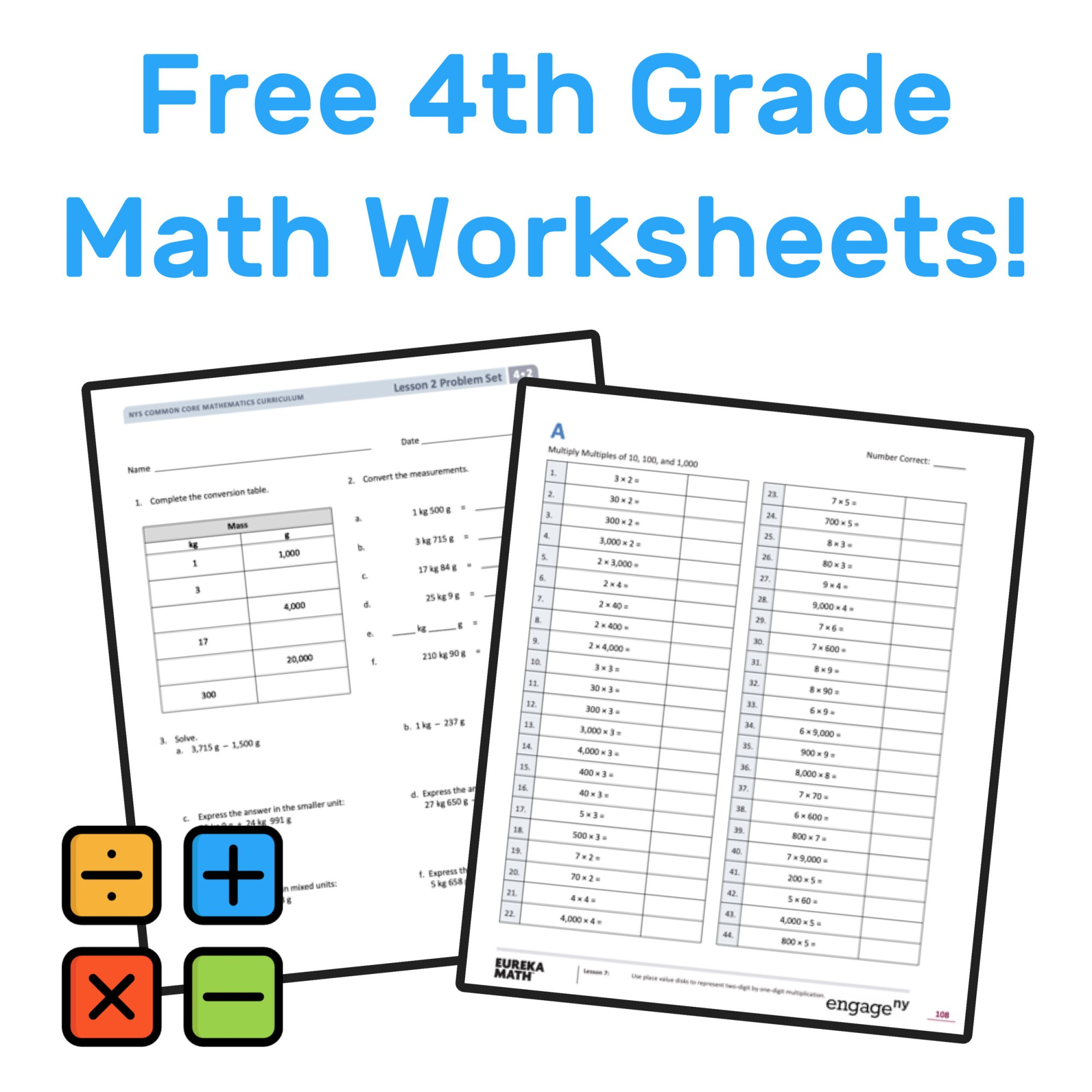 hight resolution of The Best Free 4th Grade Math Resources: Complete List! — Mashup Math