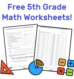 The Best Free 5th Grade Math Resources: Complete List! — Mashup Math [ 1000 x 1000 Pixel ]