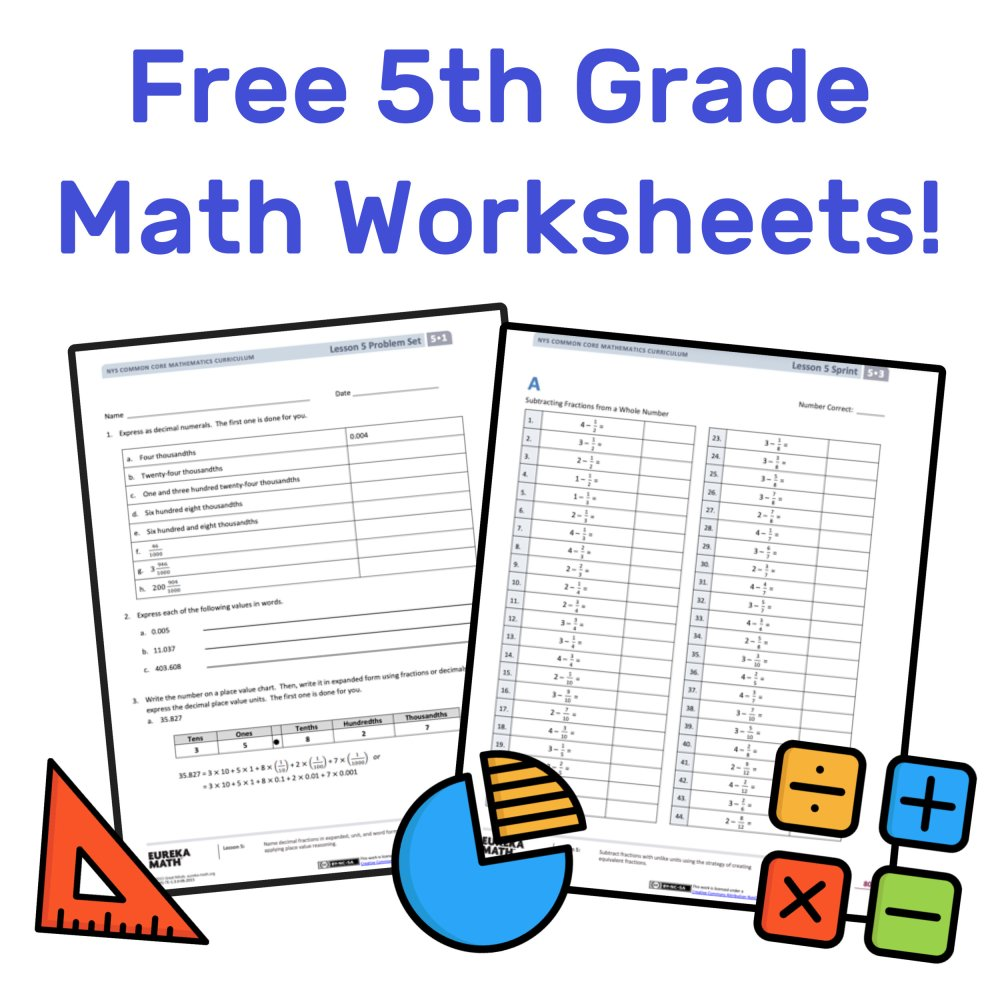 medium resolution of The Best Free 5th Grade Math Resources: Complete List! — Mashup Math