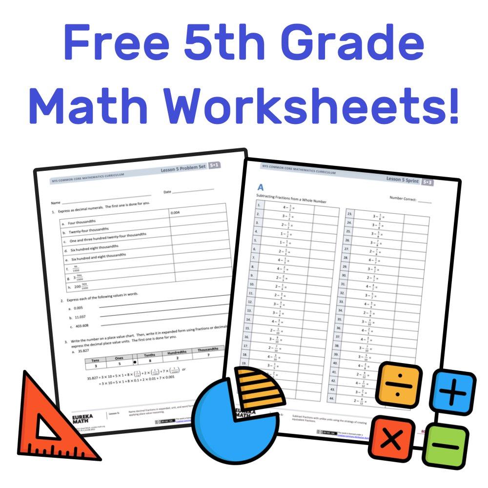 medium resolution of The Best Free 5th Grade Math Resources: Complete List! — Mashup Math