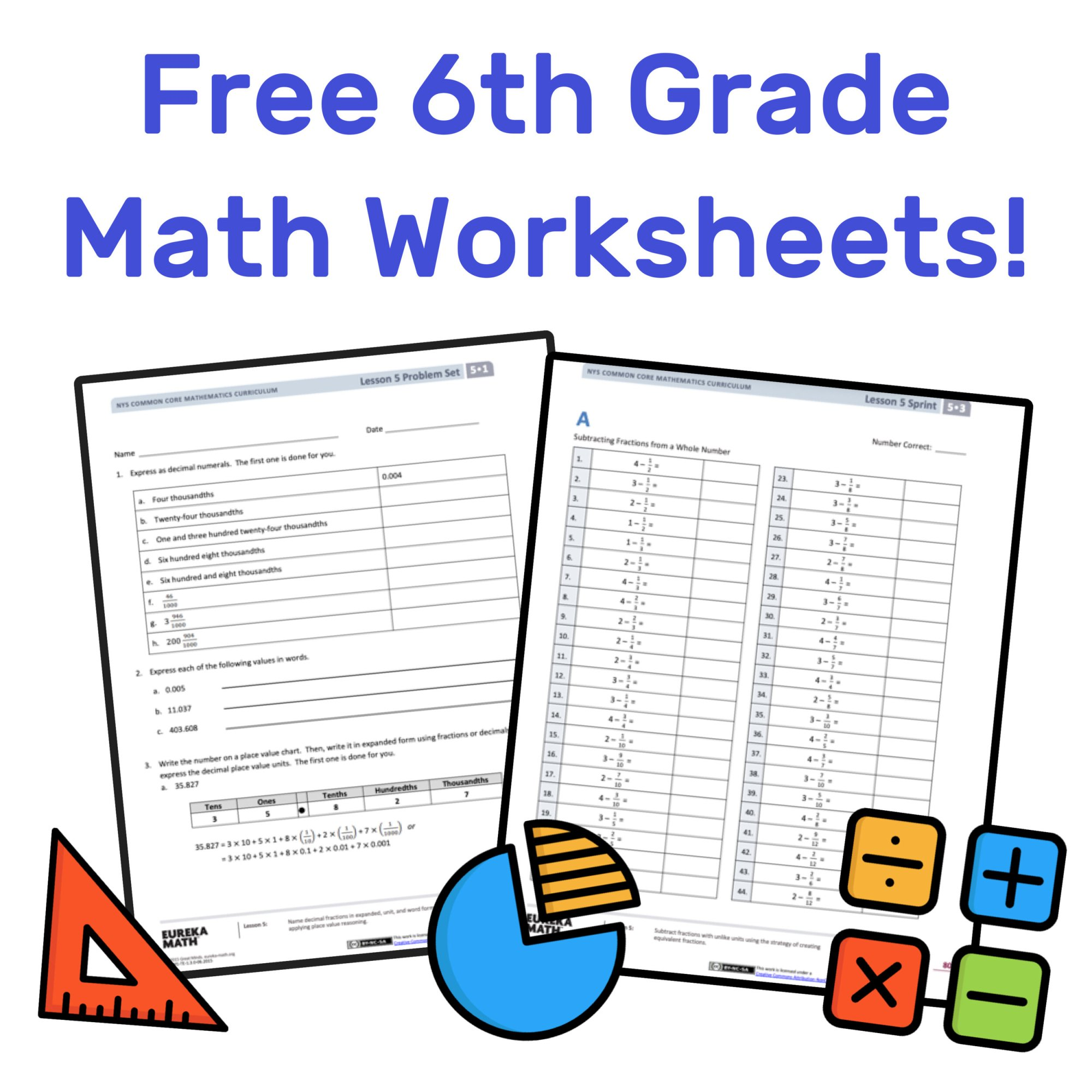 hight resolution of The Best Free 6th Grade Math Resources: Complete List! — Mashup Math