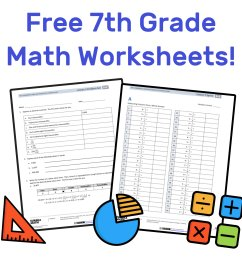 The Best Free 7th Grade Math Resources: Complete List! — Mashup Math [ 1000 x 1000 Pixel ]