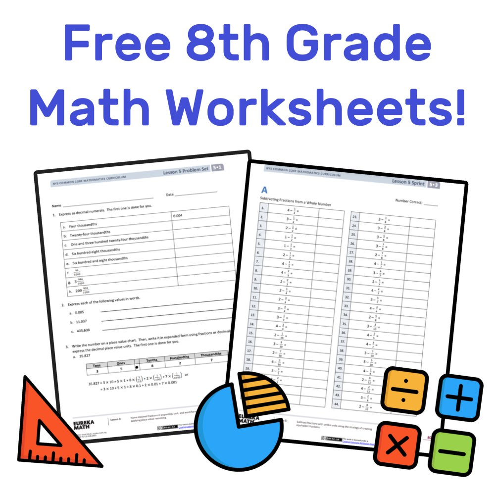 medium resolution of The Best Free 8th Grade Math Resources: Complete List! — Mashup Math