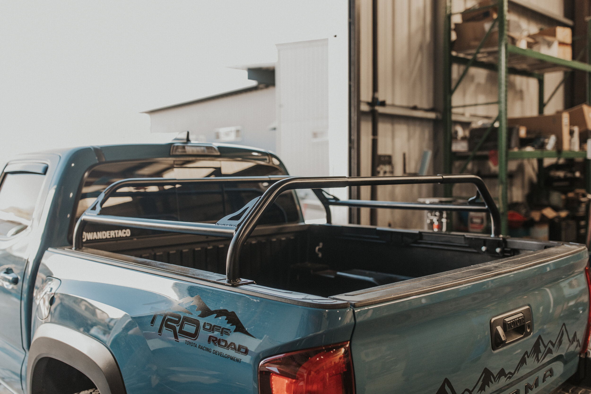 hot metal fab mid length over the bed rack 3rd gen tacoma ideal fitment hot metal fabrication