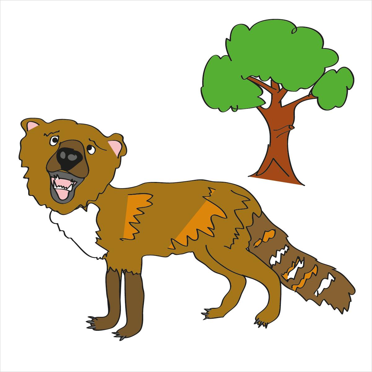 hybrid animals drawn for