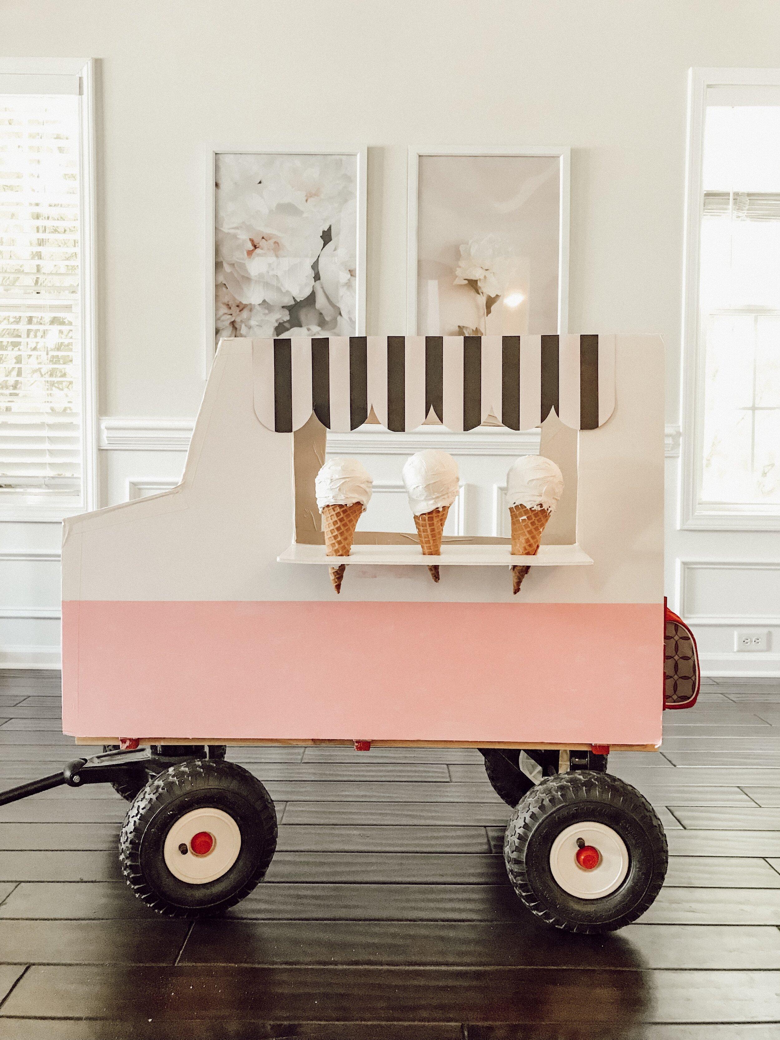 Diy Ice Cream Truck : cream, truck, Cream, Truck, Family, Halloween, Costume, Momma, Society