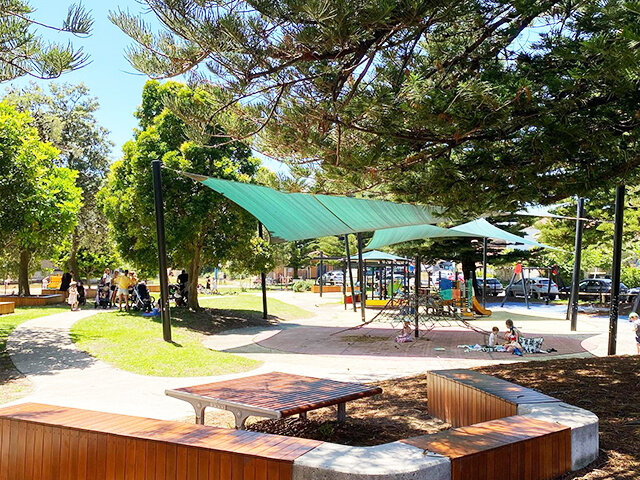 Manly Lagoon Reserve Playground - Photo Credit: @busycitykids