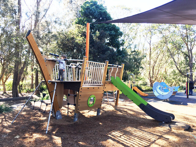Passmore Reserve Manly Vale Playground - Photo Credit: @busycitykids