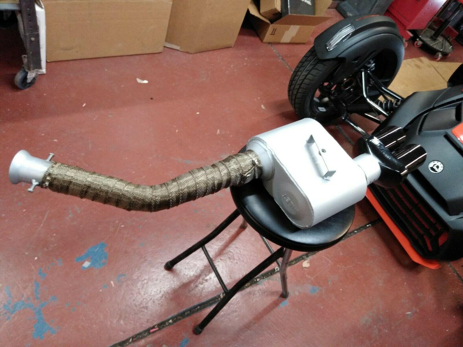 can am ryker custom exhaust demons speed shop