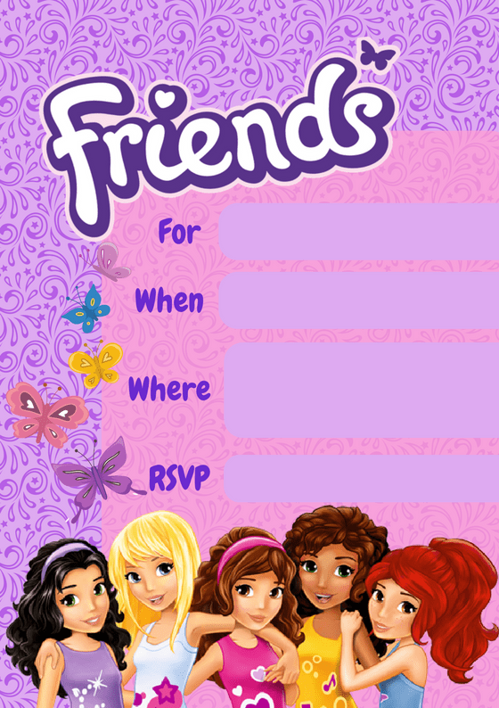 how to throw a lego friends party