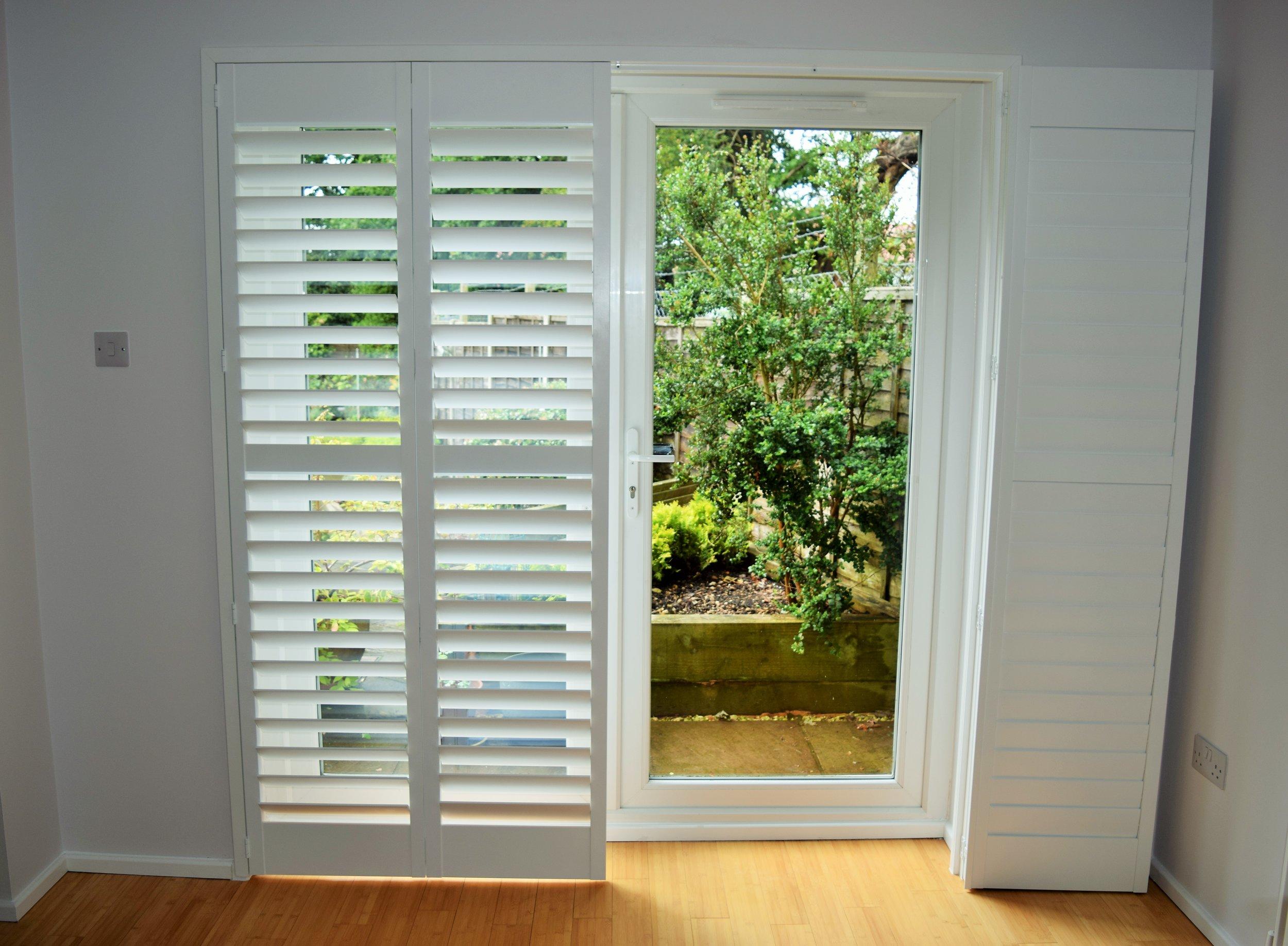 patio door shutters the shuttershack