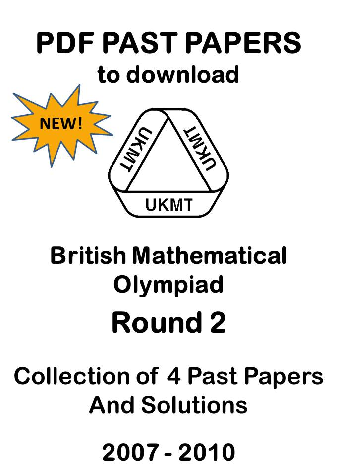 British Mathematical Olympiad Round 2 Past Papers 2007