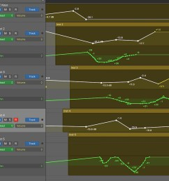 automation selection logic pro x 02 multiple types of automation [ 1000 x 898 Pixel ]