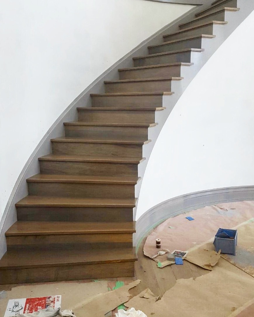 Stairhaus Inc Custom Stair Design And Construction Gallery Stairs   Front Side Staircase Design   Out Staircase   Gallery Photo Indian   Outer Wall   Home Front Arch   Indian Style