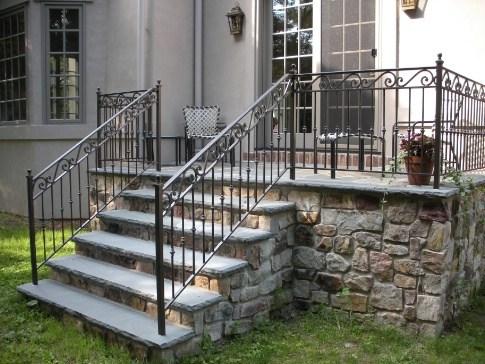 Wrought Iron Railings Custom Metal Work Creative Forge | Outdoor Wrought Iron Stair Railing Near Me | Aluminum Railings | Railing Steel | Front Porch Railings | Railing Designs | Custom