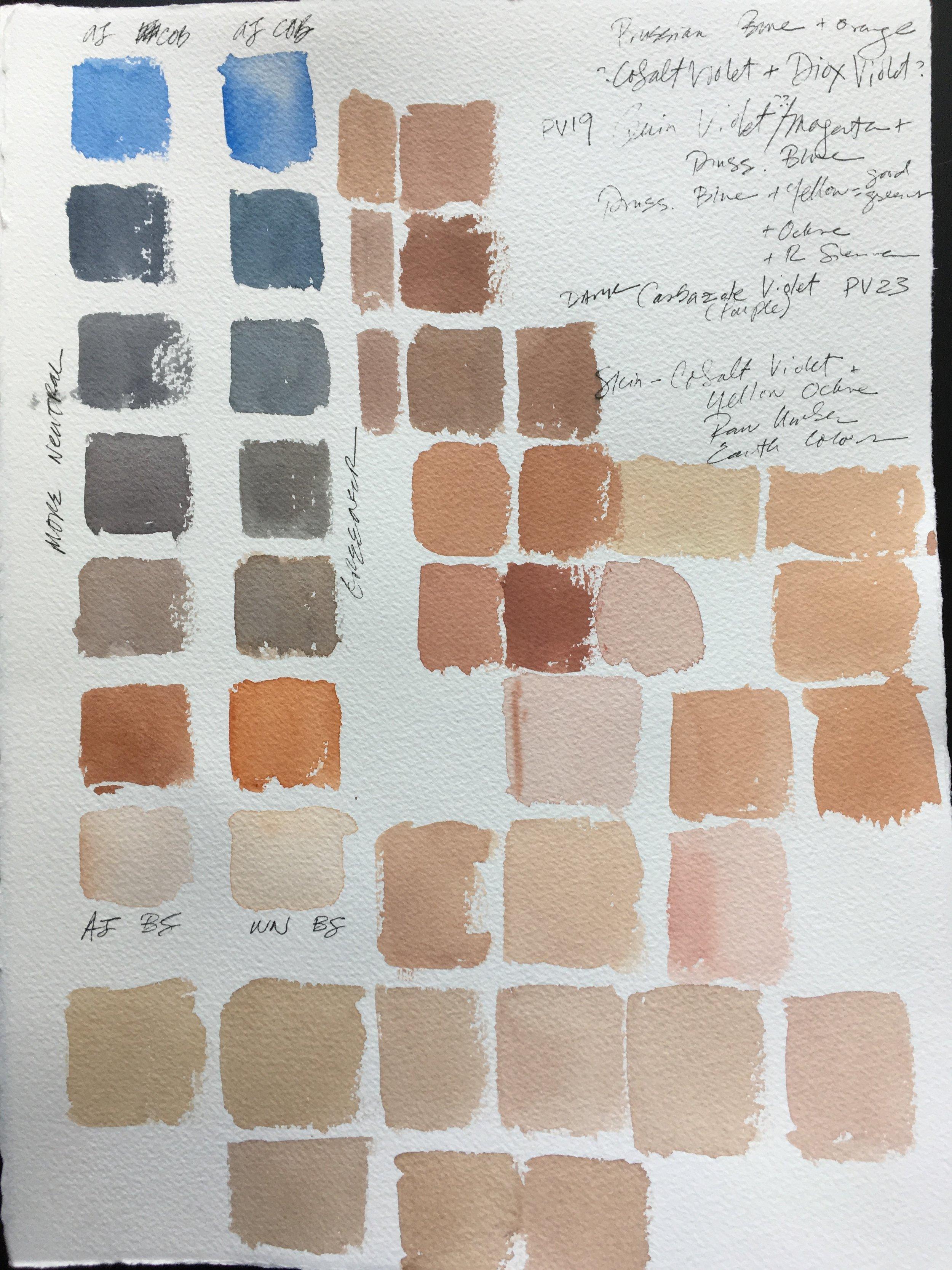 Oil Paint Skin Tones : paint, tones, Exploring, Tones, Seamless, Expression