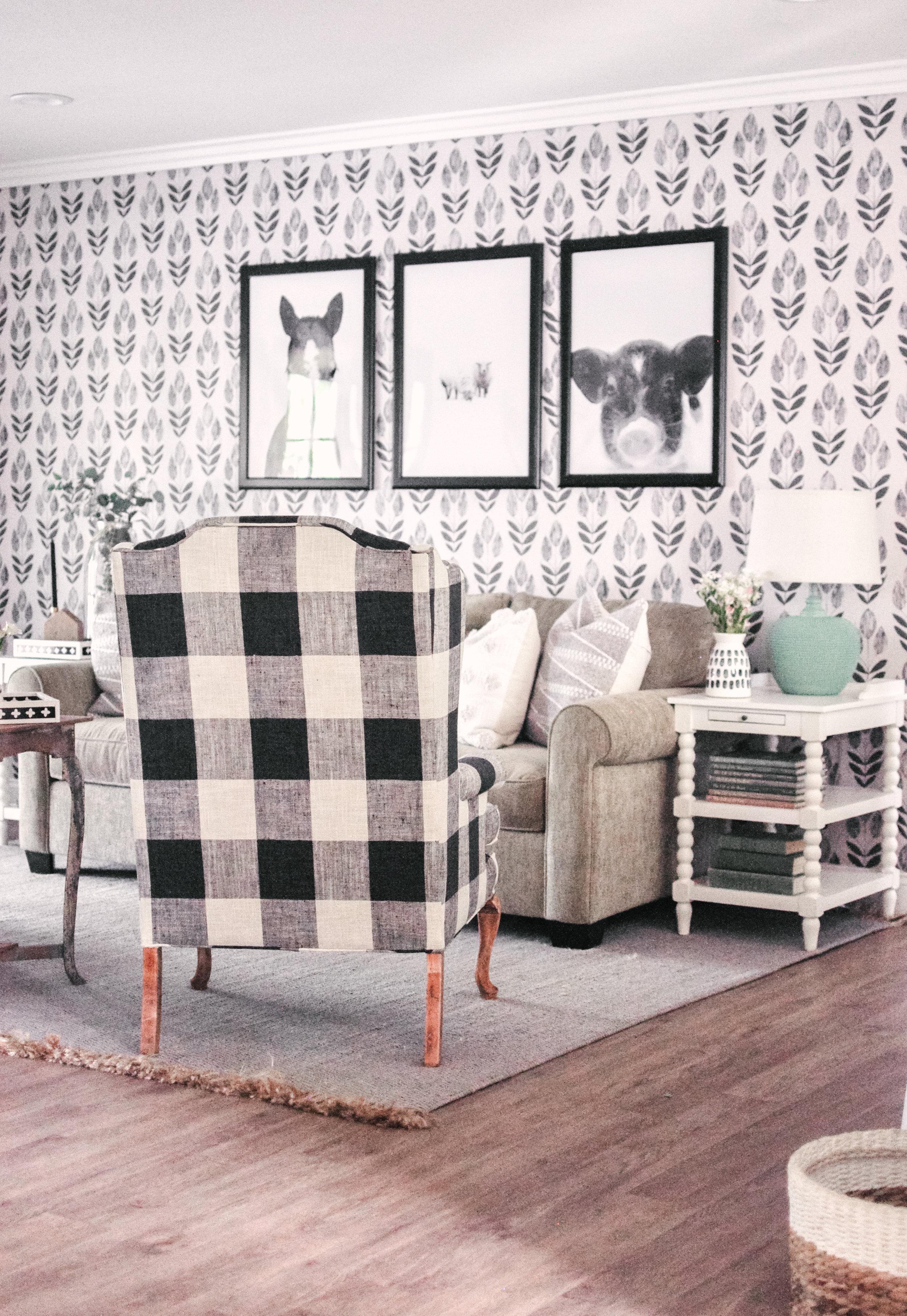 Farmhouse Living Room Makeover Home Decor Love And Specs