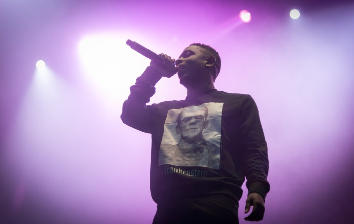 """Kendrick Lamar performs at Norwegian music festival Øyafestivalen in 2013. Lamar's latest album,""""To Pimp a Butterfly,"""" was one of the most anticipated albums of this year. (Jørund Føreland Pedersen/Wikimedia Commons)"""