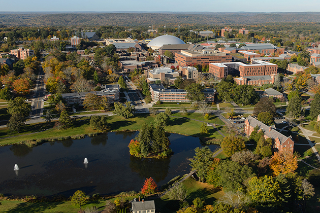 U.S. News & World Report has ranked UConn as the No. 19 public university in the country for the fourth time in five years. (Peter Morenus/UConn Photo)