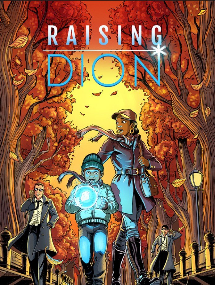 """Author Dennis Liu visited the UConn Co-Op Bookstore on Friday to promote his new book, """"Raising Dion,"""" a tale about a young superhero as seen through his mother's eyes (Courtesy/ www.dennis-liu.com )."""