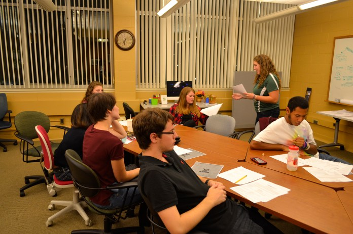 The Academic Achievement Center hosted a workshop to help find ways to motivate a typical college student. (Olivia Stenger/The Daily Campus)