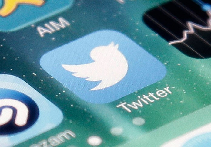 This Nov. 4, 2013 file photo shows the icon for the Twitter app on an iPhone in San Jose, Calif (Marcio Jose Sanchez, File/AP)